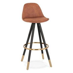 Hnědá barová židle KokoonBruce, výška sedáku 75cm