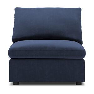Tmavě modrá prostřední část modulární pohovky Windsor & Co Sofas Galaxy