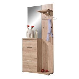 Skříň se zrcadlem a věšákem Germania Telde, 91 x 200 cm