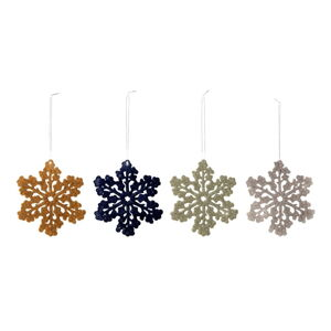 Sada 4 vánočních závěsných dekorací Bloomingville Endi Ornament