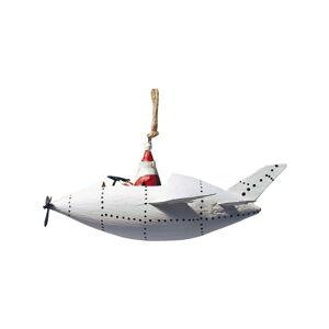 Vánoční závěsná ozdoba G-Bork Santa in Zeppeliner
