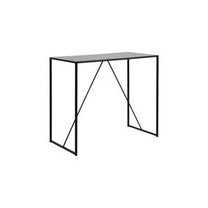 Černý barový stolek Actona Seaford