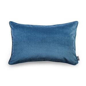 Modrý povlak na polštář se sametovým povrchem WeLoveBeds Jeans,40x60cm