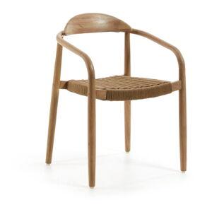 Sada 4 židlí s béžovým sedákem La Forma Glynis