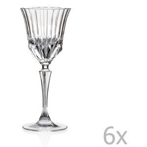 Sada 6 sklenic RCR Cristalleria Italiana Serafina