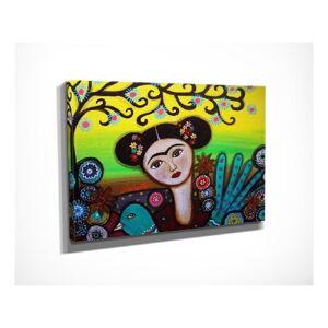 Nástěnný obraz na plátně Girl, 40 x 30 cm