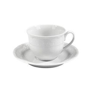 Sada 6 porcelánových šálků s podšálky Kutahya Concept, 50ml