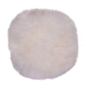 Bílá ovčí kožešina House Nordic Circle,⌀35cm