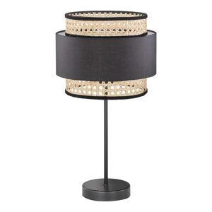 Černo-béžová stolní lampa Fischer & Honsel Tape