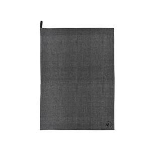 Šedá kuchyňská utěrka z bavlny Södahl Organic, 50x70cm