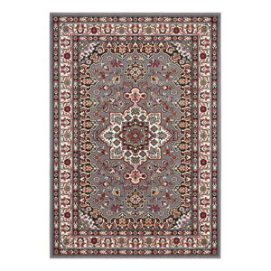 Šedý koberec Nouristan Parun Tabriz, 160 x 230 cm