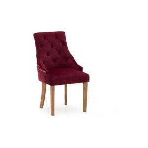 Sada 2 červených jídelních židlí VIDA Living Hobbs