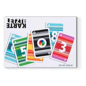 Karetní hra Remember Last Card