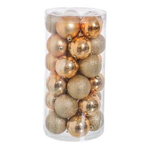 Sada 30 vánočních ozdob ve zlaté barvě Unimasa Baladdas