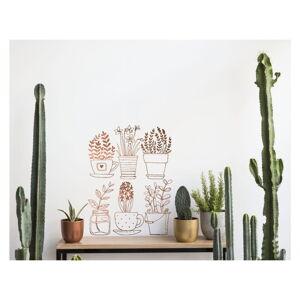 Vynilová samolepka na zeď Really Nice Things Plants