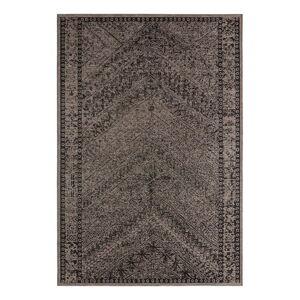 Hnědo-černý venkovní koberec Bougari Mardin, 160 x 230 cm