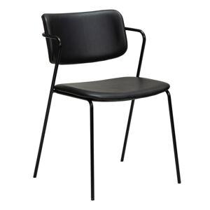 Černá židle z imitace kůže DAN-FORM Denmark Zed