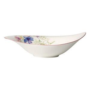 Bílá porcelánová salátová mísa s motivem květin Villeroy & Boch Mariefleur Serve, 1,15 l
