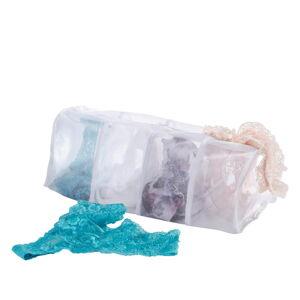 Bílé síťky na praní spodního prádla Wenko