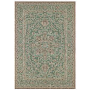 Zeleno-béžový venkovní koberec Bougari Anjara, 160 x 230 cm