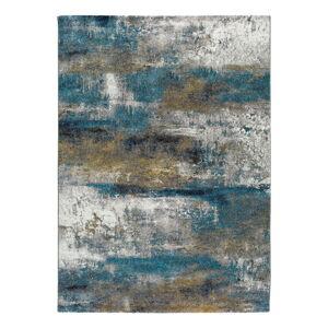 Modrý koberec Universal Kalia Abstract, 120 x 170 cm