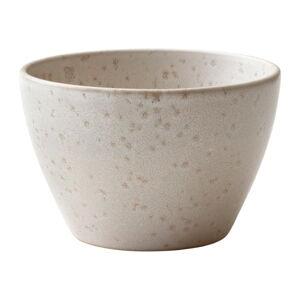 Krémová kameninová servírovací mísa Bitz Basics Matte Cream, ⌀ 13 cm