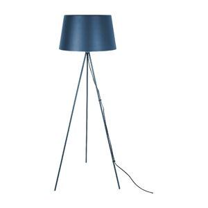 Tmavě modrá stojací lampa Leitmotiv Classy