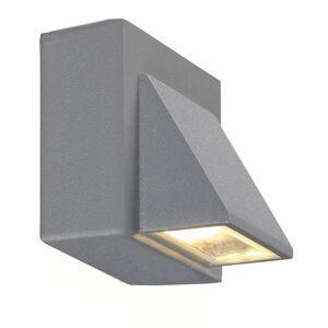 Šedé nástěnné svítidlo Markslöjd Carina, 8 x 7,5 cm