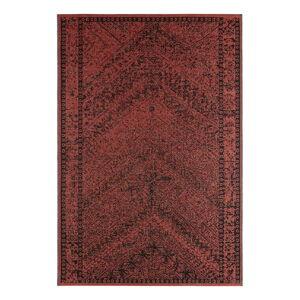 Tmavě červený venkovní koberec Bougari Mardin, 70 x 140 cm