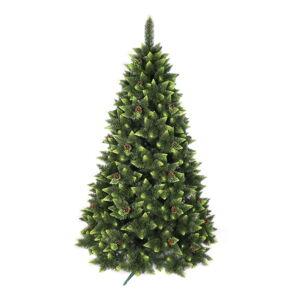 Umělý vánoční stromeček zdobená borovice Vánoční stromeček, výška 220 cm