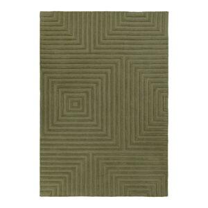 Zelený vlněný koberec Flair Rugs Estela, 160 x 230 cm