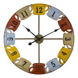 Nástěnné hodiny Antic Line Tasses, ø 60,5 cm