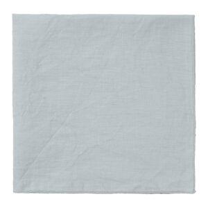 Světle šedý lněný ubrousek Blomus, 42x42cm