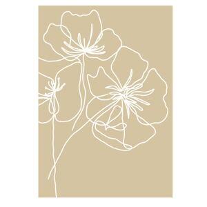 Plakát na kvalitním papíře Veronika Boulová Kvetoucí, 29 x 41 cm