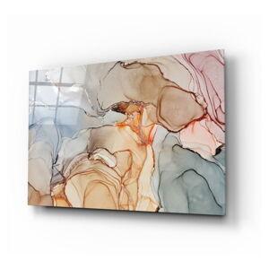 Skleněný obraz Insigne Soft Marble Pattern,110 x70cm