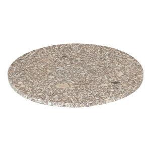 Béžové servírovací prkénko Blomus Stone,ø30cm