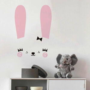 Sada samolepek na zeď Ambiance Cute Bunny