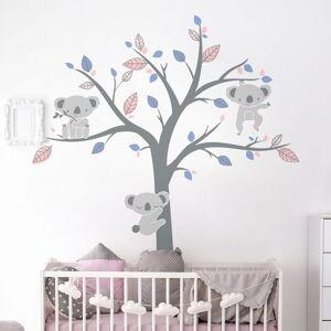 Dětské samolepky na zeď Ambiance Koala Sweet
