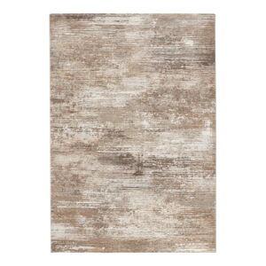 Hnědo-krémový koberec Elle Decor Arty Trappes, 120 x 170 cm