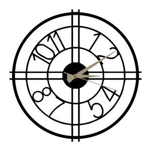 Kovové hodiny Hefaistos, ø50cm