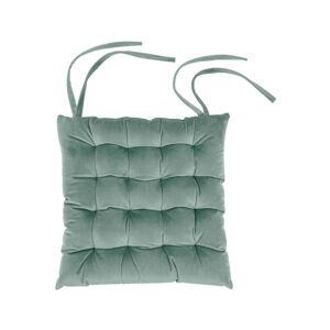 Světle zelený podsedák Tiseco Home Studio Chairy, 37x37cm