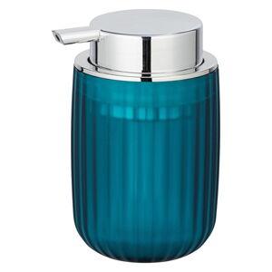 Petrolejově modrý dávkovač mýdla Wenko Agropoli Frost, 250ml
