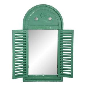 Zelené francouzské zrcadlo Esschert Design Hullo