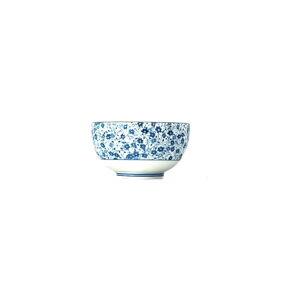 Modro-bílá keramická miska MIJ Daisy, ø13cm
