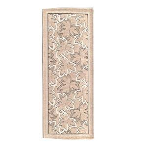 Béžový běhoun Floorita Maple, 55 x 190 cm