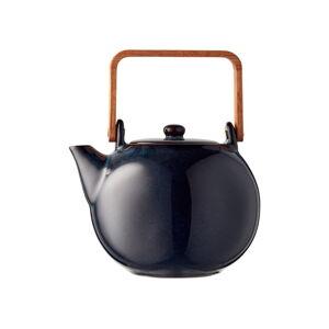 Modrá kameninová konvička na čaj Bitz Mensa,1,2l