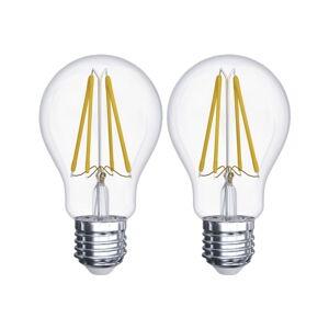 Sada 2 LED žárovek EMOS Filament A60 A++, 6W E27