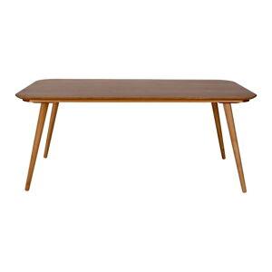 Jídelní stůl z jasanového dřeva Ragaba Contrast, 180 x 90 cm