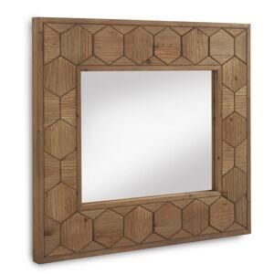 Nástěnné zrcadlo Geese Honeycomb, 89 x 80 cm
