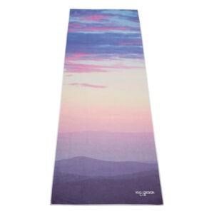 Ručník na jógu Yoga Design Lab Hot Sunrise, 340g